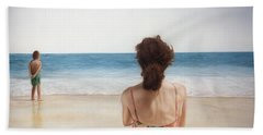 On The Beach Bath Towel