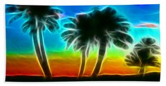 Bath Towel featuring the photograph Paradise by Tammy Espino