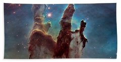 Pillars Of Creation Bath Towel