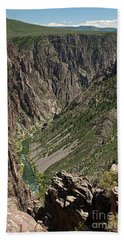 Pulpit Rock Overlook Black Canyon Of The Gunnison Hand Towel