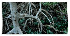 Red Mangroves Hand Towel