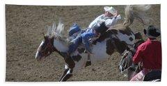 Ride Em Cowboy Hand Towel by Jeff Swan