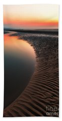 Seascape Sunset Bath Towel
