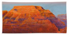 South Rim Sunset Hand Towel