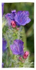 Spring Wild Flower Hand Towel by George Atsametakis