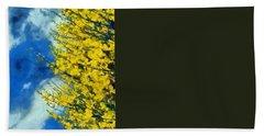 Spring Wild Flowers Hand Towel by George Atsametakis