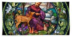 St. Francis Of Assisi Bath Towel