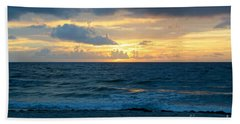 Sunrise In Deerfield Beach Hand Towel