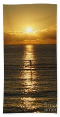 Sunrise In Florida Riviera Hand Towel