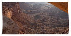 Sunrise Mesa Arch Canyonlands National Park Bath Towel