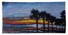 Sunset In St. Andrews Hand Towel