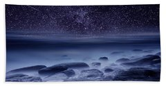 The Cosmos Hand Towel by Jorge Maia