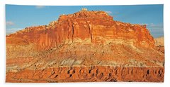 The Goosenecks Capitol Reef National Park Bath Towel
