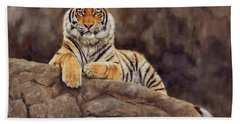 Tiger Bath Towel