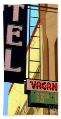 Vacancy Hand Towel by Valerie Reeves