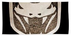 Viper Emblem Hand Towel