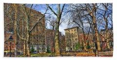 Washington Square Park Hand Towel