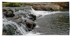 Spring Creek Waterfall Hand Towel