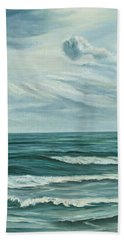 Waving Sea Bath Towel