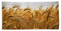 Wheat Hand Towel by Elena Elisseeva
