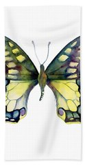 20 Old World Swallowtail Butterfly Hand Towel