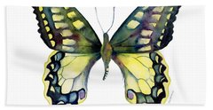 20 Old World Swallowtail Butterfly Bath Towel
