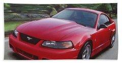 2001 Ford Mustang Cobra Bath Towel
