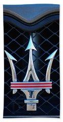 2005 Maserati Gt Coupe Corsa Emblem Hand Towel