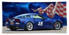 2007 Z06 Corvette Hand Towel