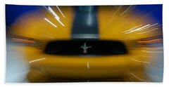 2013 Ford Mustang Bath Towel by Randy J Heath