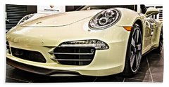 2014 Porsche 911 50th Front Hand Towel
