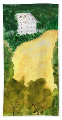 21 Room House On Golden Lake Dream Hand Towel