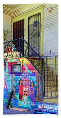25 Balmy Alley San Francisco Hand Towel