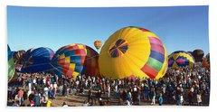25th Albuquerque International Balloon Bath Towel