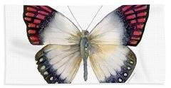 27 Magenta Tip Butterfly Hand Towel