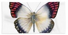 27 Magenta Tip Butterfly Bath Towel