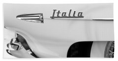 1954 Hudson Italia Touring Coupe Emblem Bath Towel