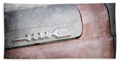 1959 Ford F-100 Emblem Bath Towel