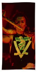 Alice Cooper At The Concord Pavillion Bath Towel