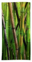 Bamboo Trees, Maui, Hawaii, Usa Hand Towel