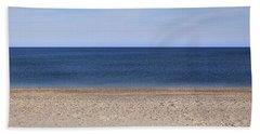 Color Bars Beach Scene Bath Towel