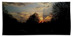 Beauty In The Sky Bath Towel by Kelly Awad