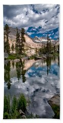 Blue Lake Bath Towel
