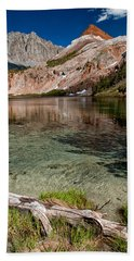Bull Lake And Chocolate Peak Hand Towel