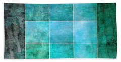 3 By 3 Ocean Bath Towel