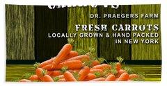 Carrot Farm Hand Towel