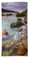 Hand Towel featuring the photograph Chanteiro Beach Galicia Spain by Pablo Avanzini