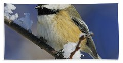 Winter Chickadee... Hand Towel
