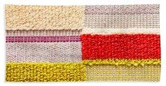 Colorful Textile Bath Towel
