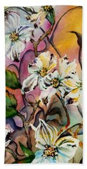 Dance Of The Dogwoods Bath Towel